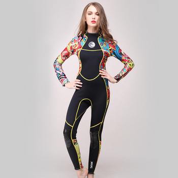 SCUBA diving wetsuit for lady female surfing wetsuit swimsuit women 3mm neoprene wetsuit scuba for diving spearfishing equipment