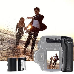 Image 3 - Travor, soporte vertical de batería para Canon 60D 60Da, reemplazo para cámara DSLR BG E9 + 2 uds., batería de LP E6 + 2 uds, paño para lente