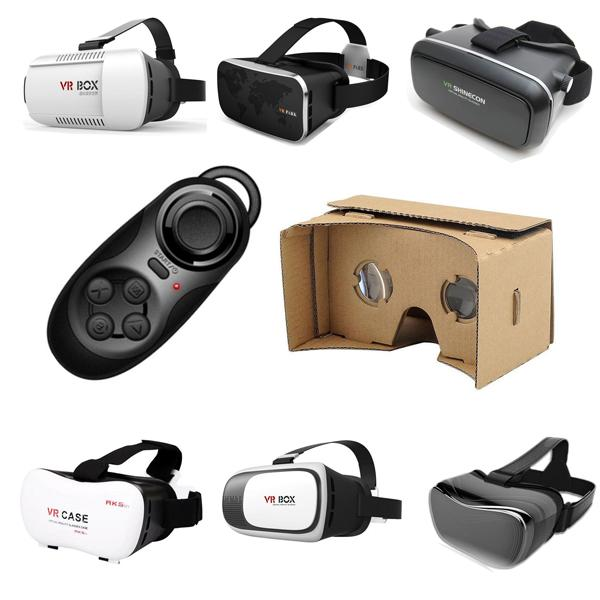 Finewin wholesale vr card board case vr box manufacturer  Virtual Reality DIY Kit Free Shipping