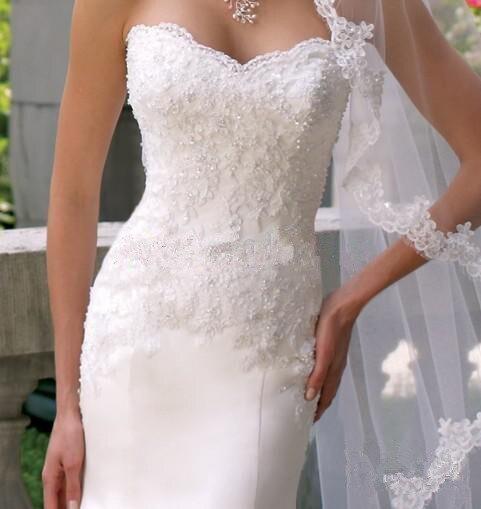 High QualityVenda De Noiva Quente Veil Catedral Borda Make Wedding Veils 1 Layer