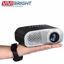 1080 P listo simplebeamer 2 HDMI con sintonizador de TV, mini proyector llevado como UC28, Micro Proyector Portátil para teatro privado GP802A,