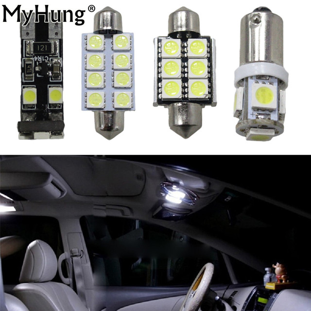 Canbus Led Interieur Lichtkoepel Kit Pakket Voor Audi A4 S4 B6 B7 ...