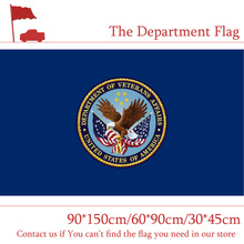 Free shipping 60*90cm The Department Of Veterans Affairs Flag 30*45cm Car 90*150cm 3x5ft Digital Printed Banners