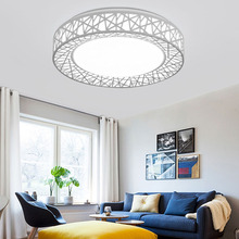 Modern LED bird nest ceiling lamp living room fixture fixture bedroom kitchen surface installation embedded AC85-265V