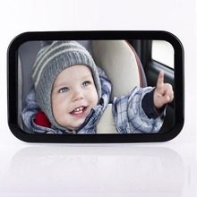 Car Safety Back Seat Mirror Easy View Baby Facing Rear Ward Child Infant Care Square Safety Baby Kids Monitor Adjustable