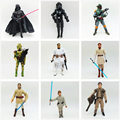 "1pc Star Wars Action Figures 10cm black series 3.7"" Darth Vader Boba Fett Clone ARC Trooper Bacca Yoda captain rex Clone Wars"