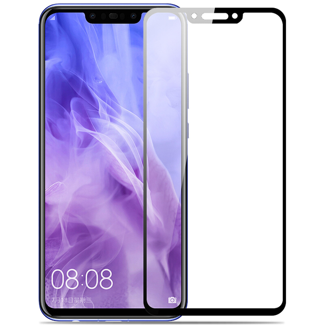 9H Protective Glass For Huawei nova 3 3i P30 P20 lite Pro Mate 20 lite p smart 2019 Full Cover Screen Protector Tempered Glass
