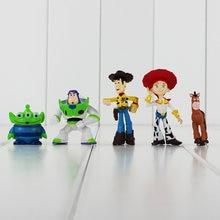 5 pz lotto Toy Story 3 Figure Buzz Lightyear Woody Jessie Rex Alien  Bullseye Cavallo Figura Giocattoli Collettivo Doll Regalo De. b9f28a4c4e6