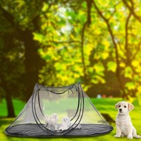 High quality Collapsible Storage Portable Folding Pet tent Dog House Cage Cat Tent Playpen Puppy Kennel Fence outdoor supplies