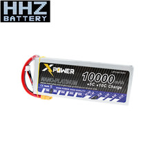 3pcs Li-polymer 11.1V Lipo 10000mAh 3S 30C XT60 T Plug RC Drone Batteria For Helicopters RC Models Helicopters FPV Drone DJI