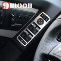 Interruptor Da Janela do painel Da Porta Interior do carro Cromado Mate capa guarnição Para Mercedes Benz A B C E Classe GLK W204 W212 W218 W176 W246 X204