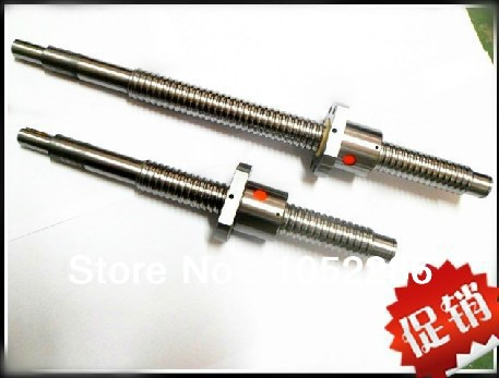 2pcs ball screw RM2505- 1850mm screw guide+2pcs SFU2505 single ball nut with end machined for cnc 10640 phoenix holland asia aviation ph bqf 1 400 b777 200er commercial jetliners plane model hobby