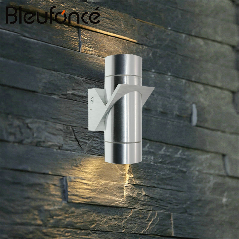 Waterproof Wall Lamp LED Aluminum Outdoor Wall Lamp Up Down Light Porch Lights 6W LED Garden Lights indoor Wall Sconce 220V BL31 modern simple creativeoutdoor led wall lamp waterproof aluminum porch lights for garden corridor decorative wall lights