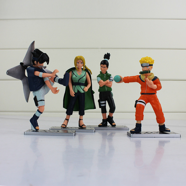 4Pcs Anime Naruto  Action Figure Collection
