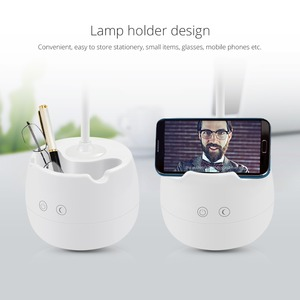 Image 5 - 디 밍이 가능한 터치 센서 led 테이블 램프 usb 충전식 책상 램프 독서 책 조명 침실 장식 밤 빛에 대 한 아이 선물