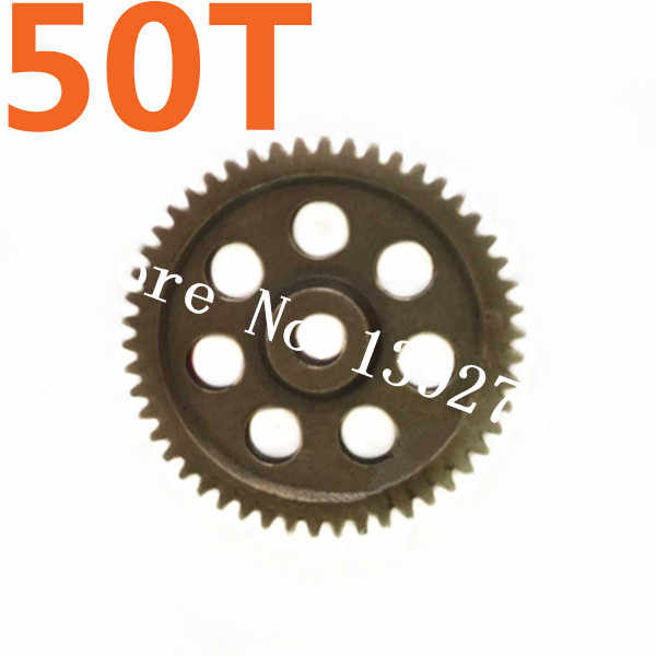 18250 HSP Flying Fish 2 Parts Metal Spur Gear 50T Teeth 1/16 Himoto RC Car Kidking Troian Zillionaire On / Off Road Truck Buggy