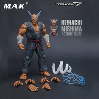 1/12 Scale Action Figure Heihachi Mishima Tekken 7 Storm Collectables Model Toy for Kid Children Collection Gift