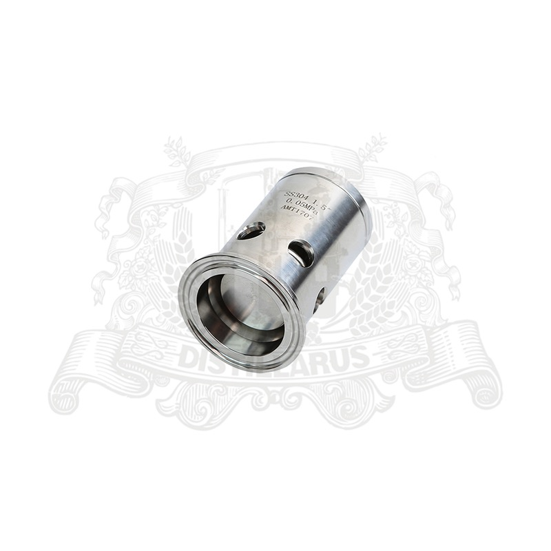 2(OD64) Tri Clamp  Pressure  Safety Valve/ Vacuum Breaker 0.5bar. Stainless steel 304 90kpa electric pressure cooker safety valve pressure relief valve pressure limiting valve steam exhaust valve
