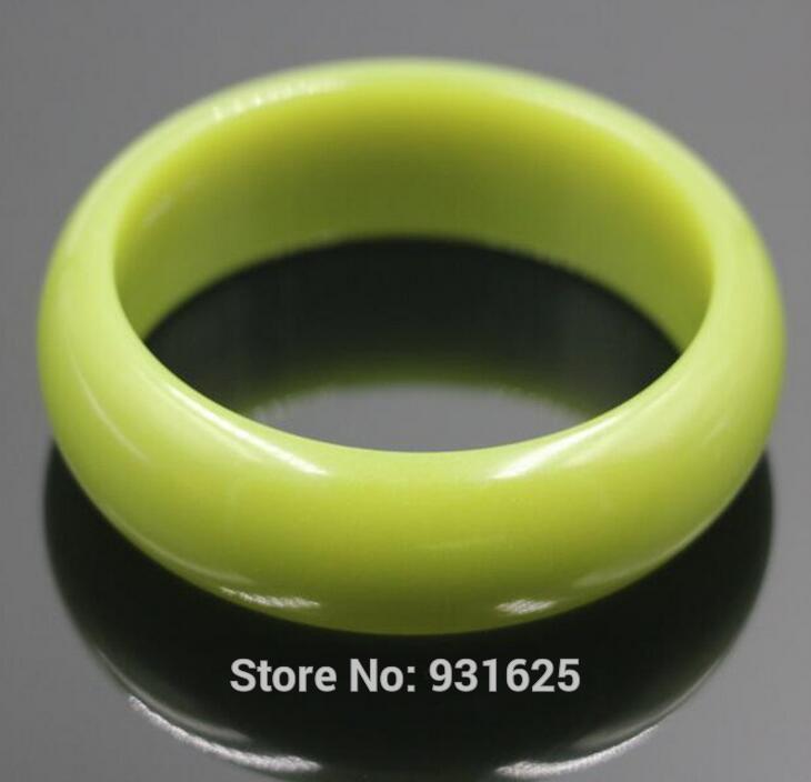 Bracelet en pierre naturelle de 19-22mm de large en fluorite lumineux 58-62mm brillant dans les pierres lumineuses sombres Bracelets bijoux fins