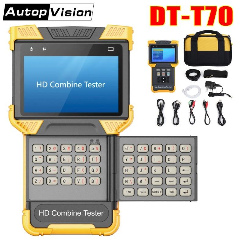 DHL Ücretsiz DT-T70 4.0 Inç HD Birleştirmek CCTV Tester Monitör - Güvenlik ve Koruma - Fotoğraf 1