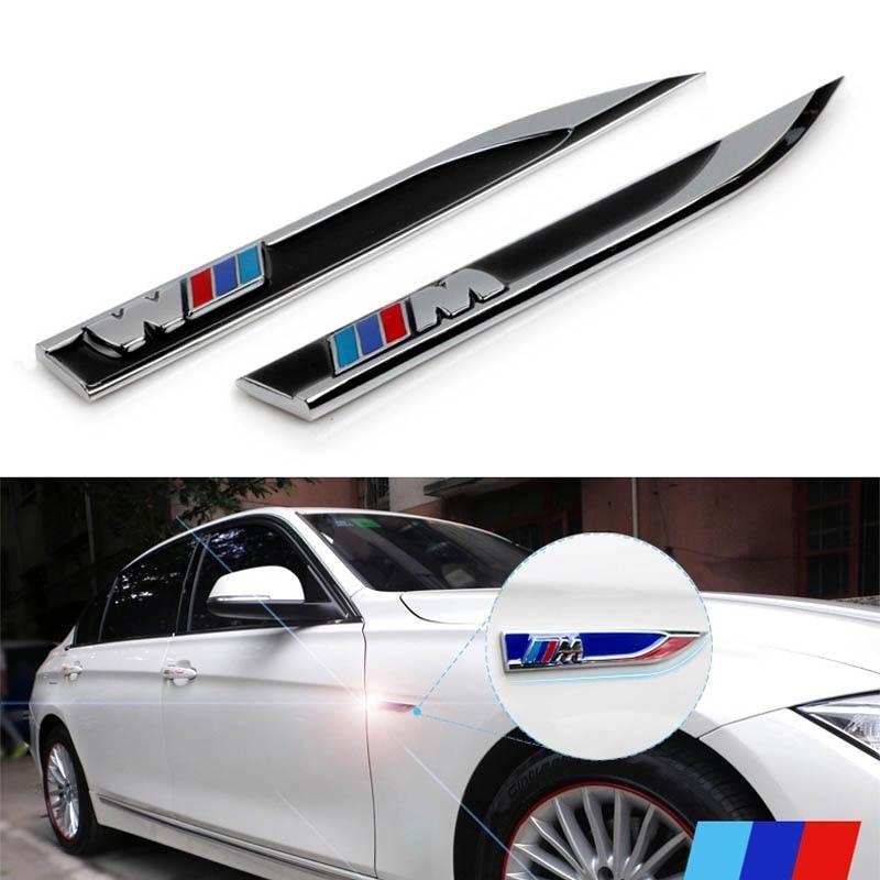 Bmw M5 Car: Metalic M Blade Power Performance Styling Car Side Wing