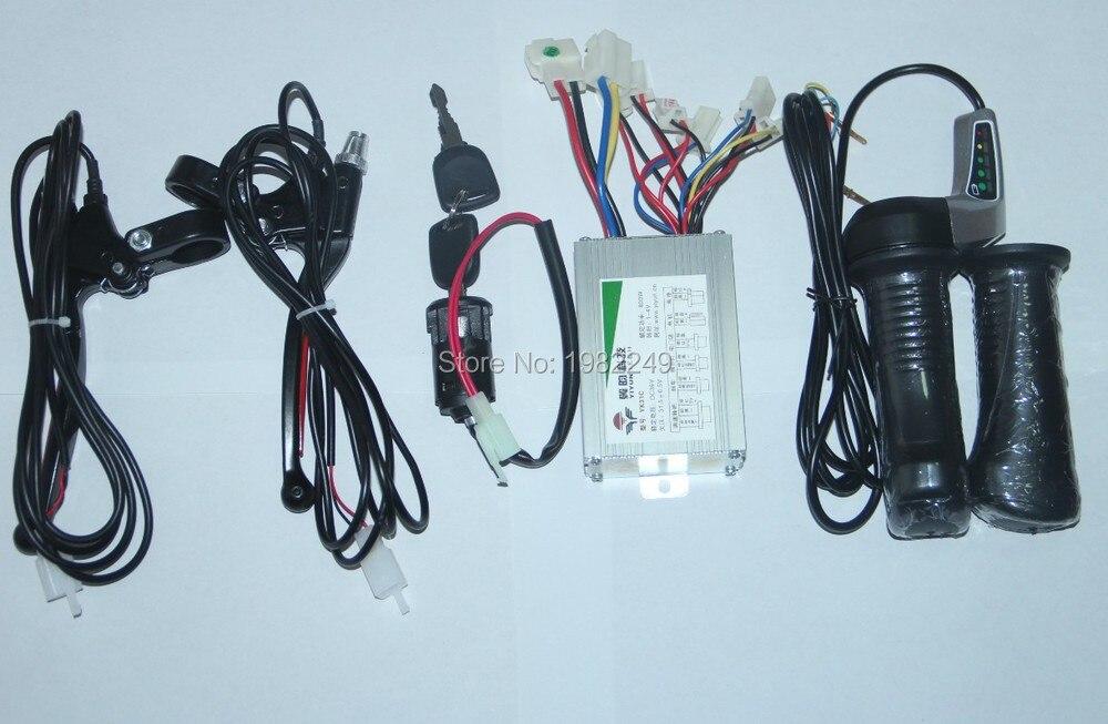 Throttle Lever For Dc Moter : V w motor brushed controller throttle twist grip