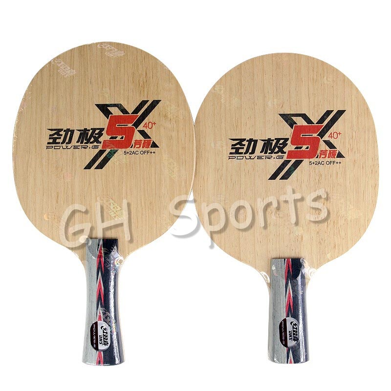 DHS 2019 New POWER G 5X PG5 X PG 5 X Table Tennis Blade Arylate Carbon