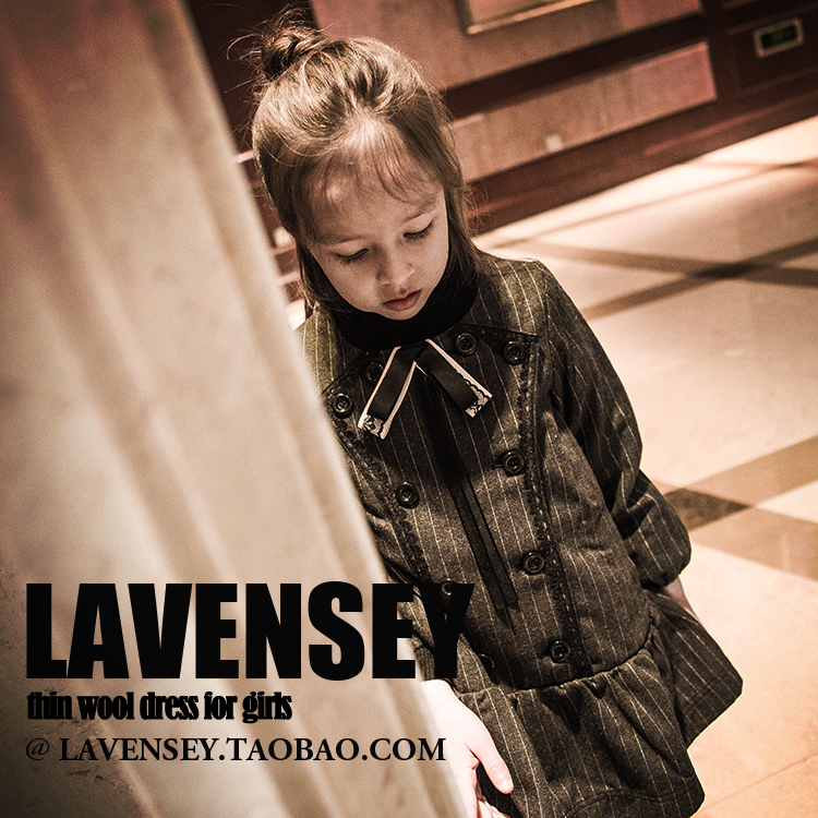 ФОТО Lavensey Girl Autumn 2016 Winter Baby Girls Dress Long Sleeve Fashion Hot Sale Dress Party Kids Clothes Girls Clothes