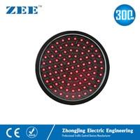 12 inches 300mm Full Red Round LED Traffic Signal Modules Replaced LED Traffic Lamp 220V 12V 24V Traffic Lights