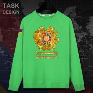 Image 5 - Armenia Armeno BRACCIO AM mens felpa con cappuccio pullover con cappuccio da uomo felpa streetwear abbigliamento hip hop tuta Autunno nazione cappotto 20