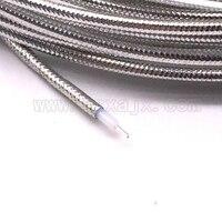 5 meter RG405 Coaxiale Kabel voor RF Connector Flexibele RG 405 Coax Pigtail 16ft Hoge Kwaliteit Connector Gratis verzending Connectoren Licht & verlichting -