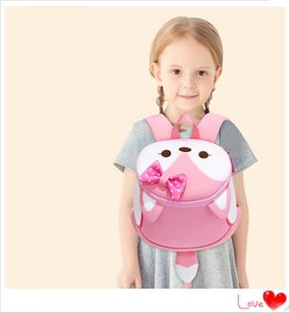 3D kids Bag for girls boys Children school bags cute waterproof