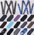 Check Floral Stripe New Fashion Classic Men Suspenders Lady Adjustable Elastic Clip-on Brace Suspenders PA