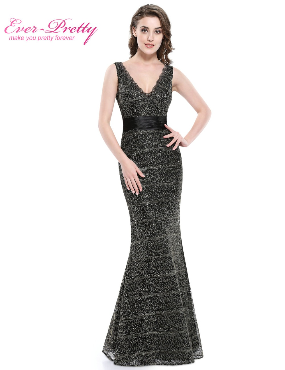 d07ca90506 Formal Elegant Winter Long Sleeve Evening Dresses Clearance sale Navy Blue  V Neck HE09887 Fast Shipping Vestido Longo-in Evening Dresses from Weddings  ...