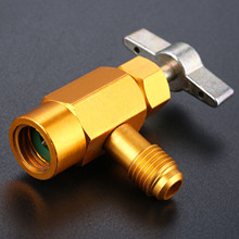 Refrigerant-Tap R-134a Thread-Valve-Tool Air-Conditioning Auto Car Can SAE 1pc Dispensing