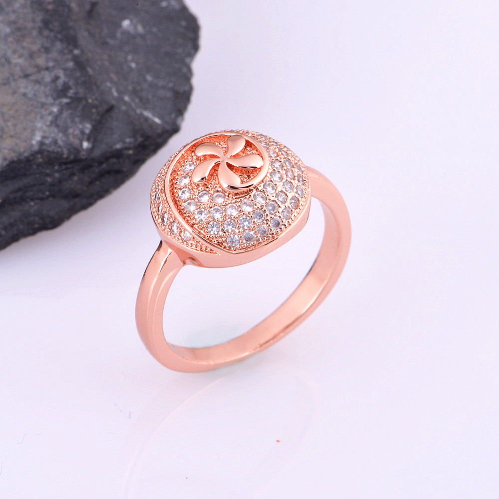 Uloveido Bridal Jewelry Sets Silver Rose Gold Color Wedding ...