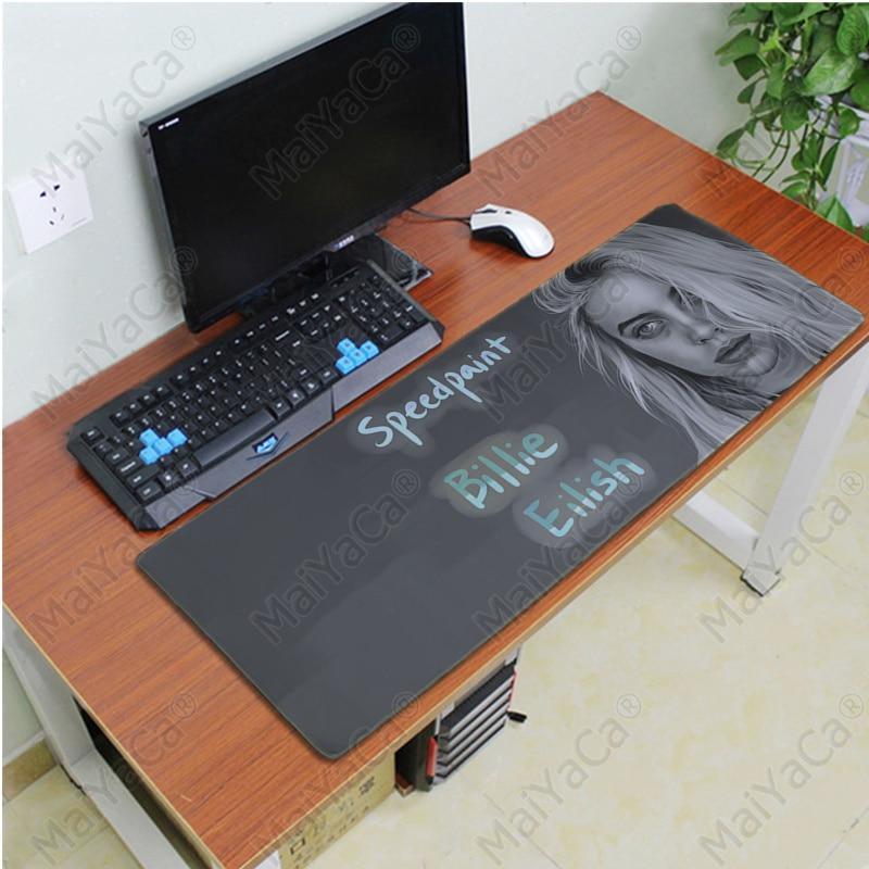 Купить с кэшбэком MaiYaCa My Favorite Billie Eilish Laptop Computer Mousepad Free Shipping Large Mouse Pad Keyboards Mat