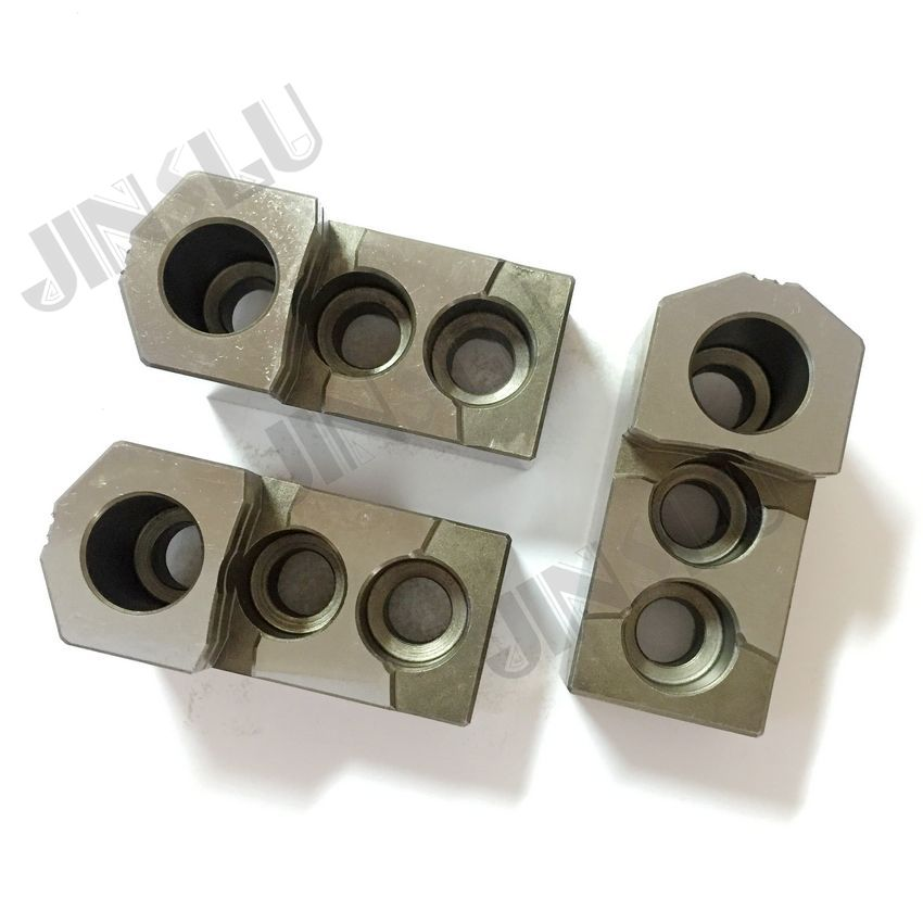 HJ hard jaws (HJ series) for HYDRAULIC Chucks HJ-06 one set (3 jaws) квадрокоптер hj toys lily drone hj w606 3