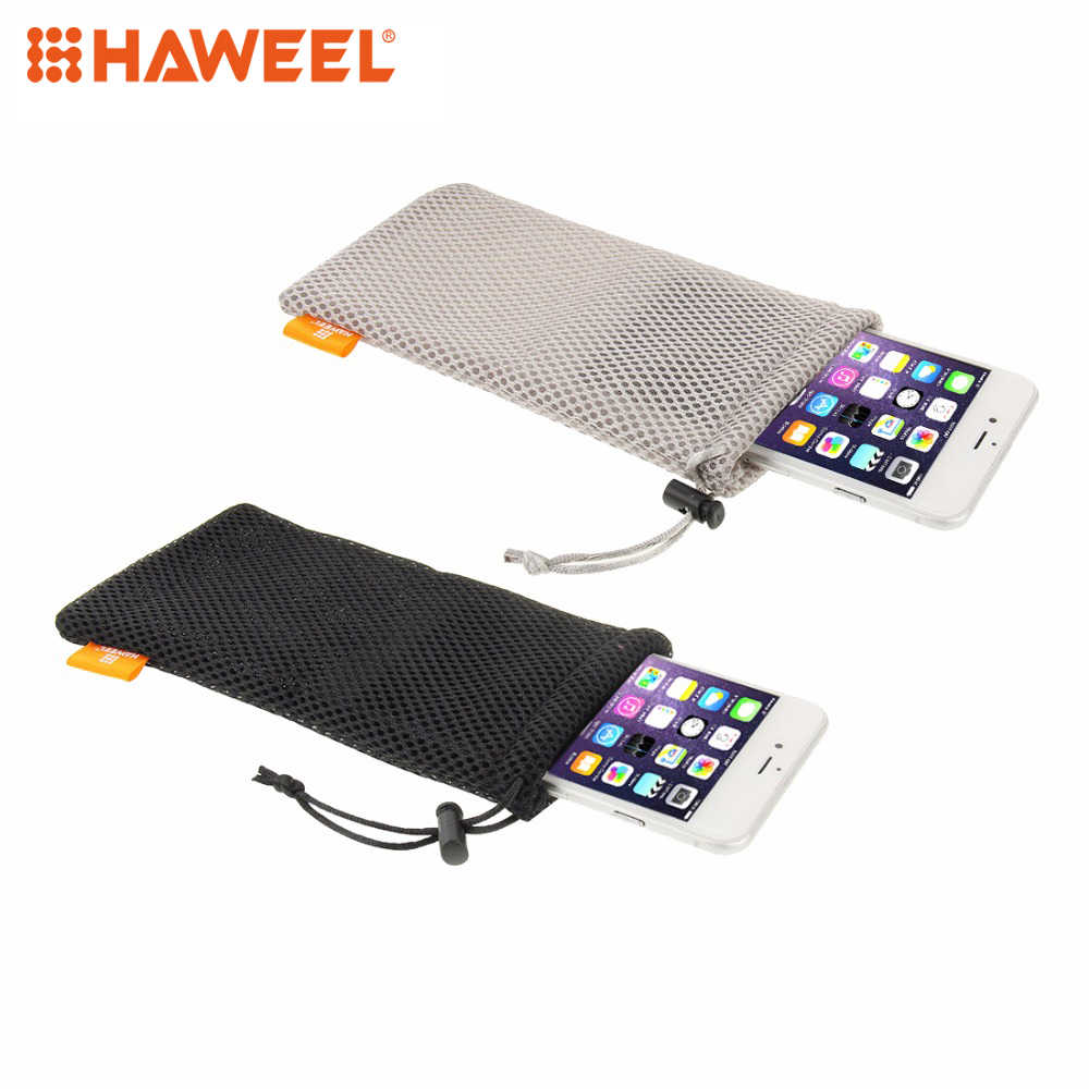 HAWEEL  Protective Universal Phone Bag Case cover for iPhone/Samsung For Up To 5.5 inch Screen Phone Size+Stay Cord