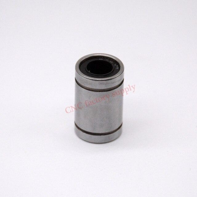 Бесплатная доставка LM8UU линейный 8 мм с ЧПУ линейные подшипники 10 шт./лот