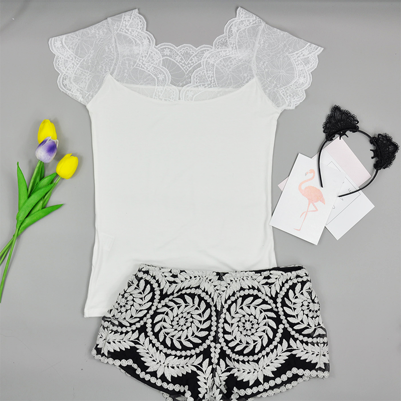 Summer Pajamas sets l 2018 new pajamas for women summer sleepwear nightwear ...