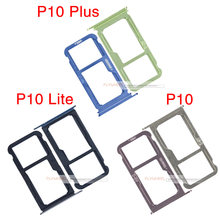 1pcs Micro SIM Card Holder Slot Tray Connector Replacement Parts For HuaWei P10 Lite P10 Plus(China)