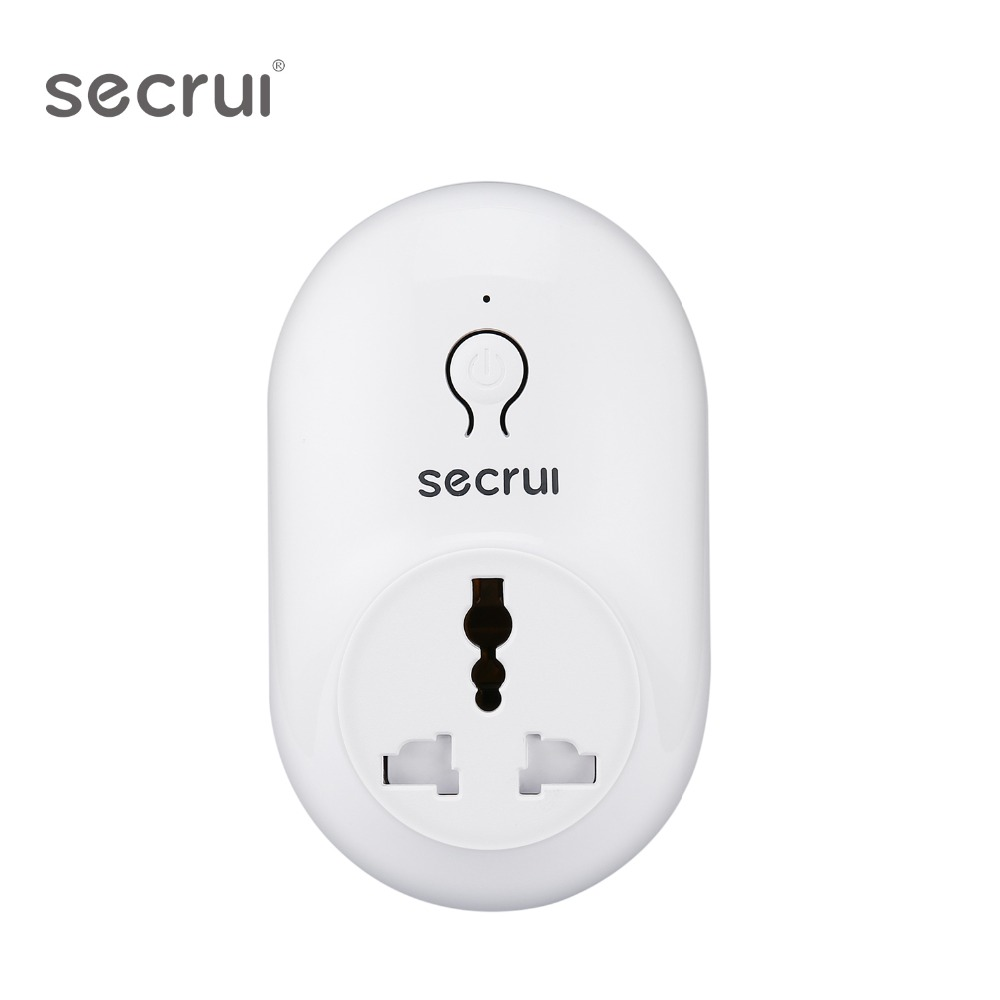 Original Secrui S71Smart Socket Plug Wireless Remote Socket Adaptor Power On And Off With Phone US Plug