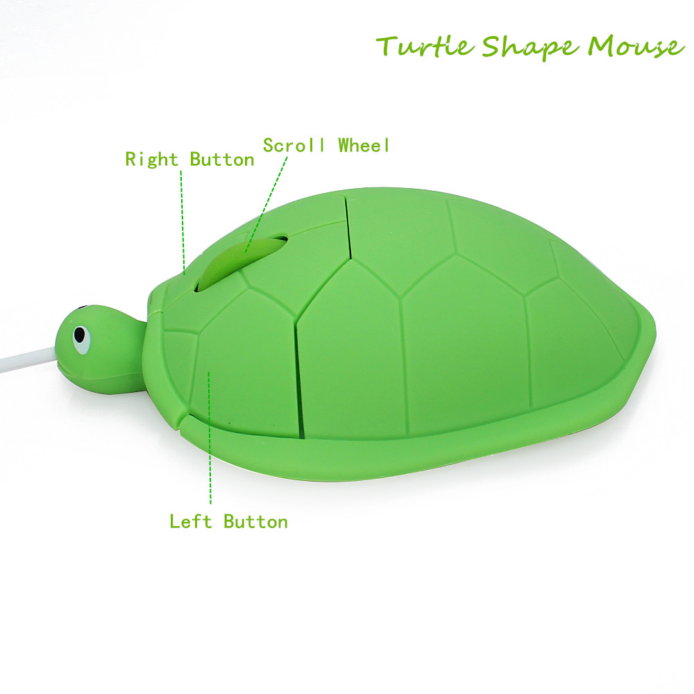cute usb wired 3d cartoon design mouse 1600dpi optical mice animal shape computer gaming mause for pc laptop notebook kids gift in mice from computer  [ 1000 x 1000 Pixel ]