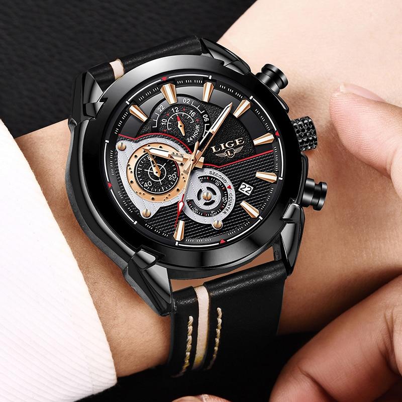 Herenhorloges LUI Topmerk Luxe Heren Militair Sport Horloge Heren - Herenhorloges - Foto 5