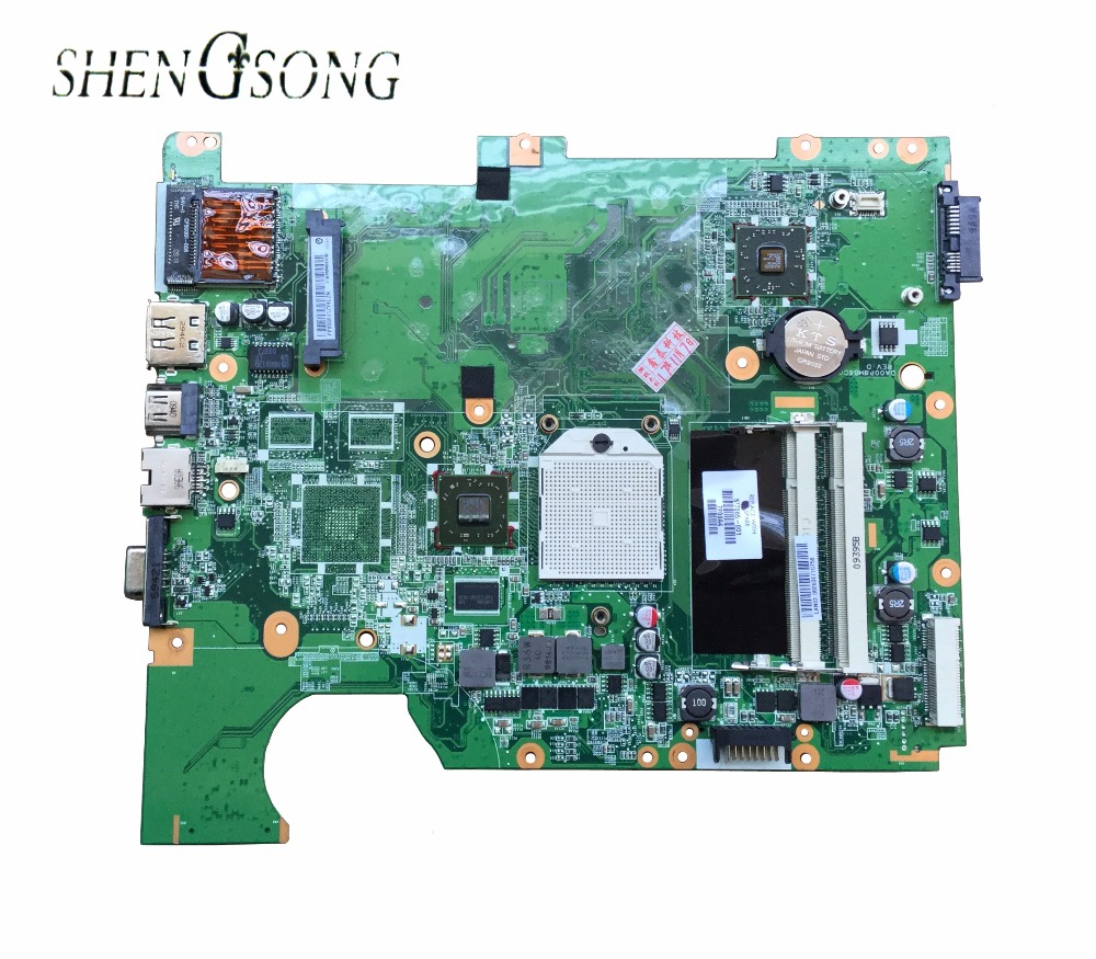 цена на Free shipping for hp Compaq CQ61 G61 laptop motherboard p/n:577065-001 DDR2 100%test