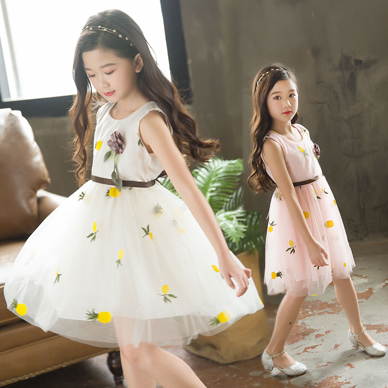 2018 Summer Baby Girl Floral Lace Tutu Dress Wedding Christening Gown Dress Girls Clothes Kids Party Wear Princess Vestidos Sale 2017 princess baby girls dress summer sleeveless floral tutu ball gown child party dresses vestidos clothes 0 7y