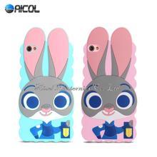 3D ZOOTOPIA Judy Rabbit Case For Lenovo S60 S60t S60-t S60-w Case Cartoon Bunny Mobile Phone Case