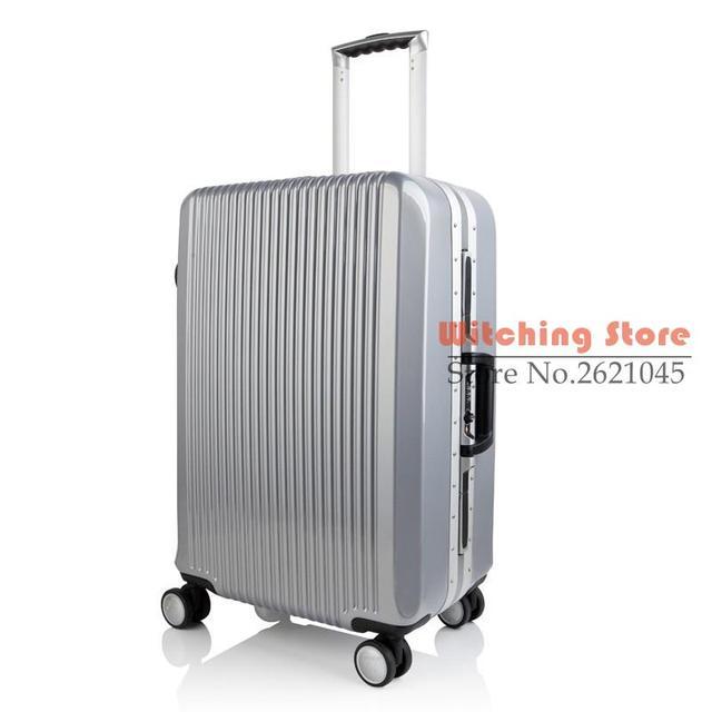 24 PULGADAS 24 # bolsas trolley marco de aluminio 24 chasis bordo maleta lanzador soporte una generación # CE ENVÍO GRATIS