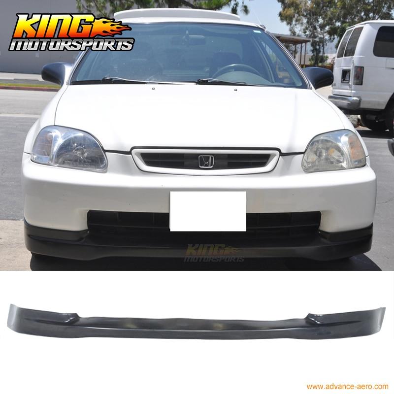 For 96-98 Honda Civic EK JDM CTR Lower Front Bumper Lip Spoiler Bodykit PU недорго, оригинальная цена